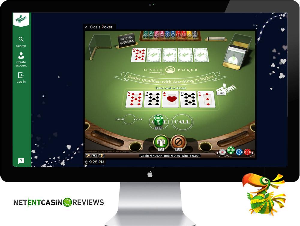 Poker at Mr Green