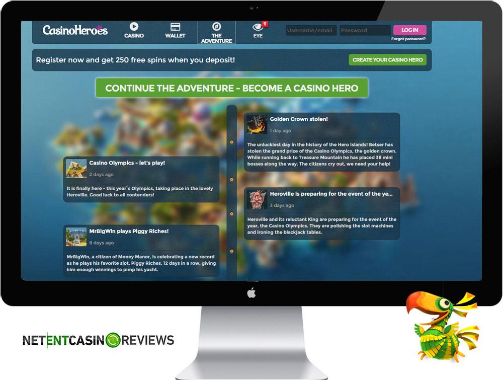Casino Heroes adventure