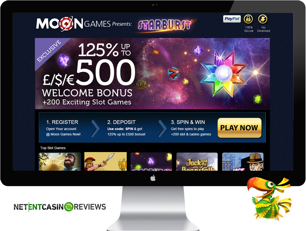 Bonuses at Moon Games Casino