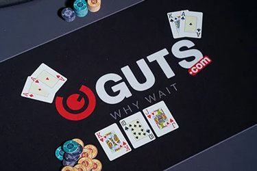 Play live games at Guts and get a cashback