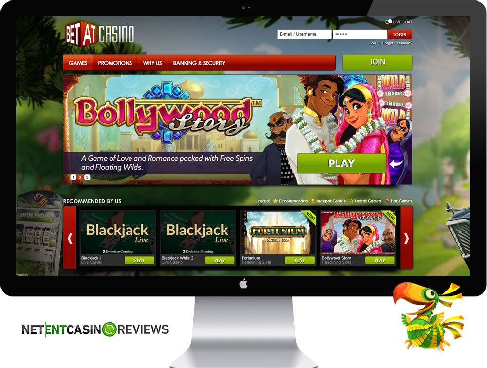 betat casino review homepage visual