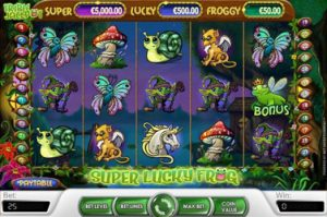 The Super Lucky Frog Jackpot Slot